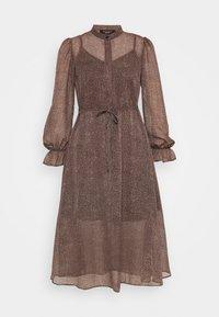 New Look Petite - MINI ANIMAL MIDI DRESS - Day dress - brown pattern - 0