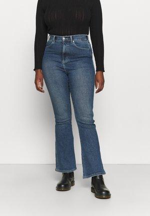 MOXY - Bootcut jeans - breeze dark stone