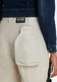 G-Star - E MULTIPOCKET  - Cargo trousers - whitebait - 1