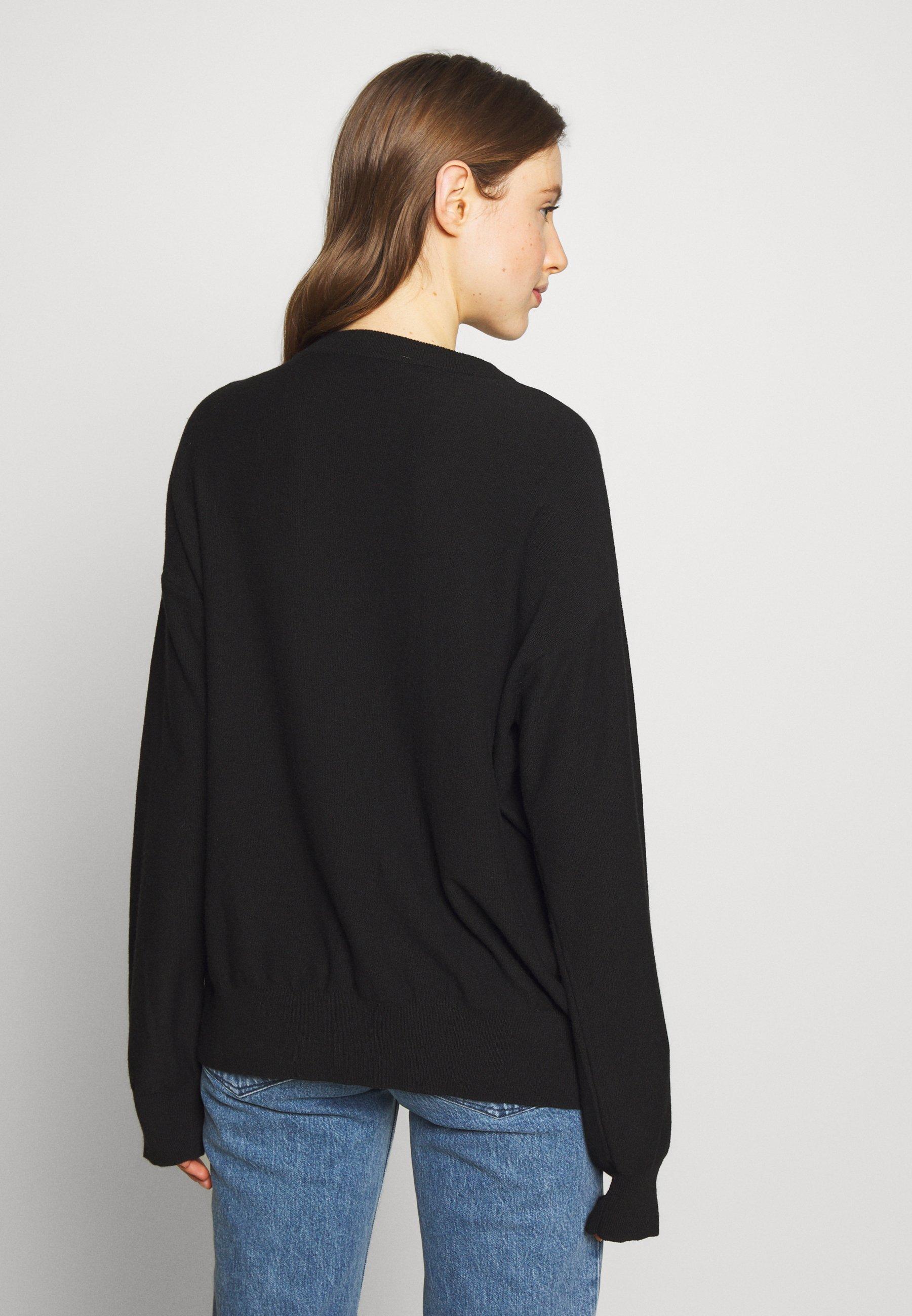 Love Moschino Trui - black - Dames jas Actueel