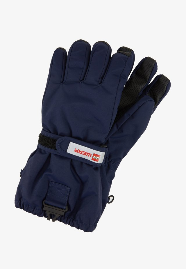 WALFRED GLOVES - Fingervantar - dark navy