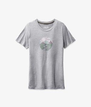 Print T-shirt - light gray heather