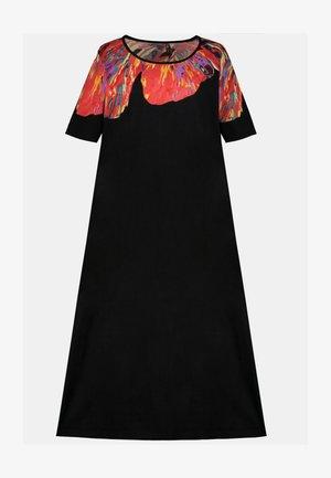 POPKEN - Maxi dress - noir multicolore