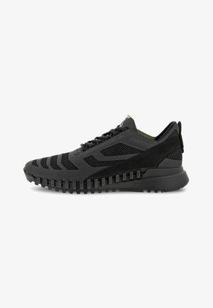 ZIPFLEX - Sneakers basse - black/black