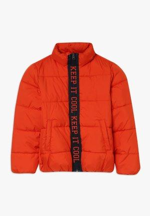 NKMMASTI ZIP JACKET - Zimní bunda - pureed pumpkin