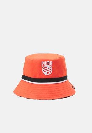 BASKETBALL BUCKET HAT - Hat - fiery coral