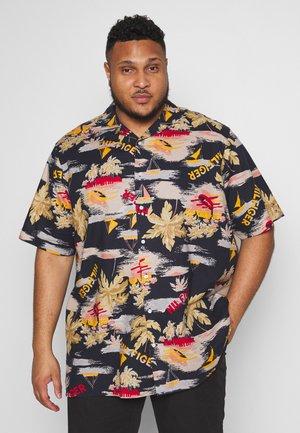 HAWAIIAN PRINT SHIRT - Overhemd - blue