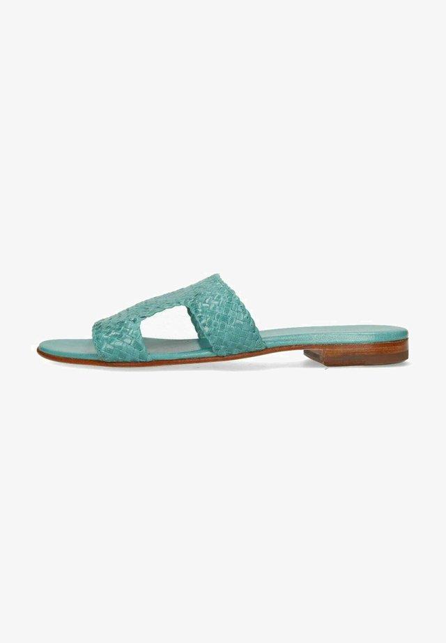 HANNA  - Muiltjes - turquoise