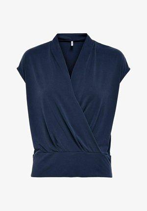 Print T-shirt - evening blue