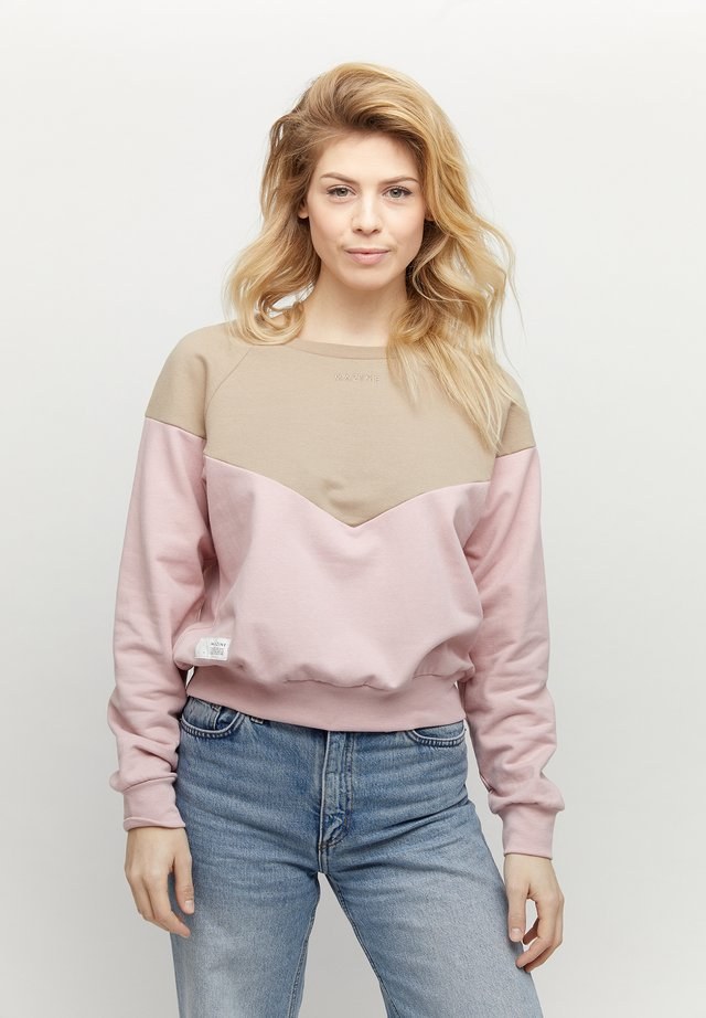MAZINE MINA - Sweatshirt - tan/blush