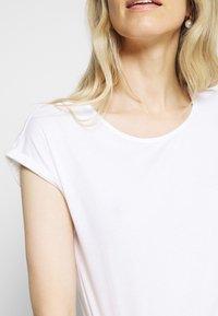 Anna Field - 3 PACK - T-shirts - black/white/mottled light grey - 12