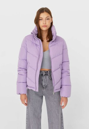 MIT ROLLKRAGEN - Winter jacket - mauve