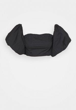 BARDOT EXTREME PUFF SLEEVE - Print T-shirt - black