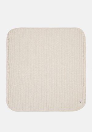 CABLE BLANKET UNISEX - Baby blanket - manila melange