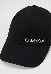 Calvin Klein - SIDE LOGO BASEBALL - Casquette - black - 5