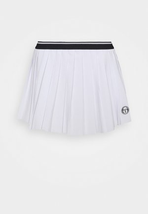 SKORT WOMAN - Gonna sportivo - blanc de blanc/night sky