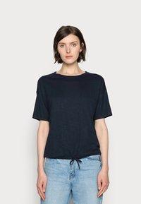 TOM TAILOR - Basic T-shirt - sky captain blue - 0