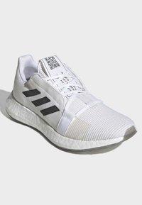 adidas Performance - SENSEBOOST GO SHOES - Scarpe running neutre - white - 3