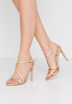 High Heel Sandalette - gold