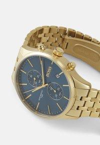 BOSS - ASSOCIATE - Chronograph watch - gold-coloured/blue - 3