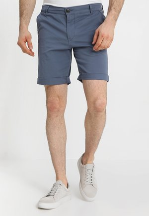 SLHSTRAIGHT-PARIS - Shorts - vintage indigo