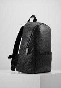 Calvin Klein - MONO ROUND BACKPACK - Tagesrucksack - black - 4