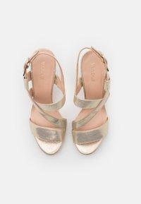 Menbur - High heeled sandals - gold - 5