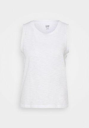 TRIM TANK - Basic T-shirt - white