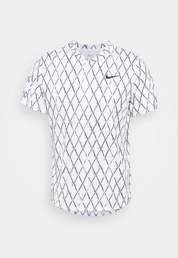 T-shirts med print - white/black