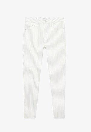 Kalhoty - gebroken wit