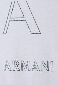 Armani Exchange - Triko spotiskem - optic white - 2