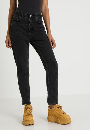MOM - Jeansy Relaxed Fit - black