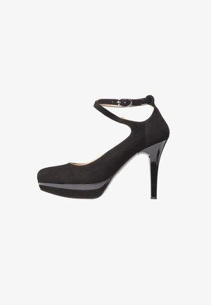 Zapatos de plataforma - nero