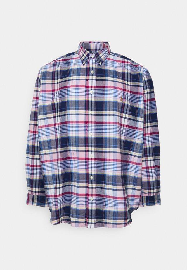 Shirt -  pink/blue multi