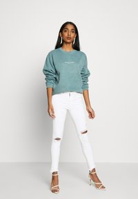 Missguided - WASHED - Sweatshirt - green - 1