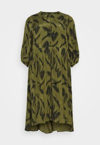Kaffe Curve - DARLA DRESS - Vapaa-ajan mekko - capulet olive - 0