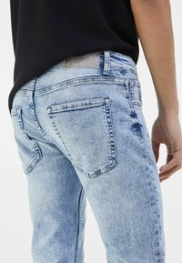 Bershka - Jeans Skinny Fit - light blue - 3