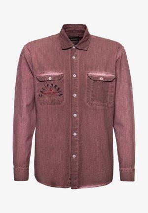 Shirt - dunkelbraun