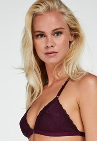 Hunkemöller - MAYA - Triangle bra - purple - 2