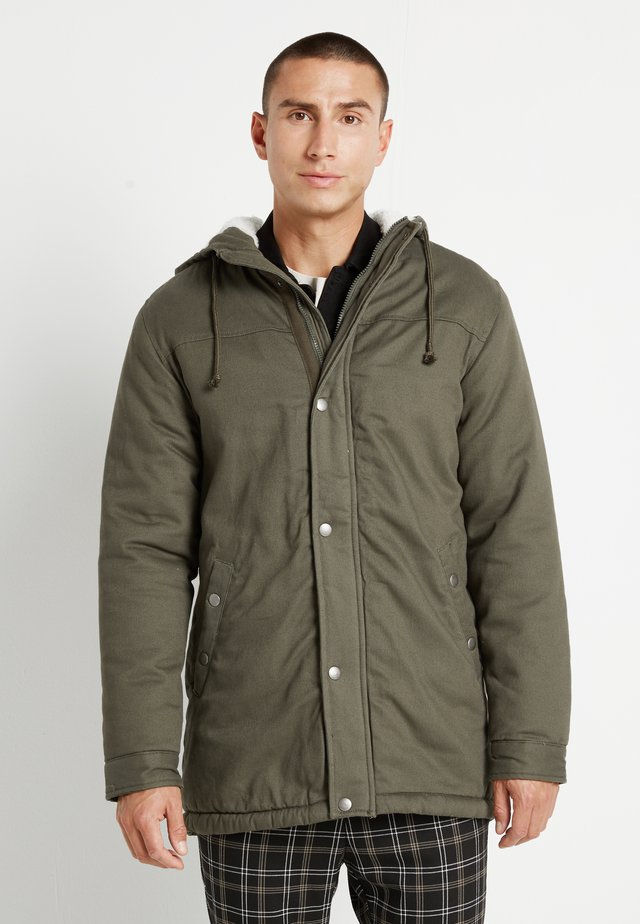 ONSALEX TEDDY - Parka - olive night