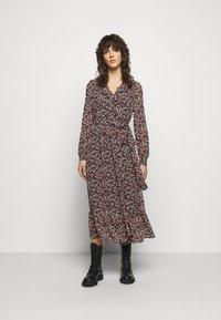 MICHAEL Michael Kors - DAINTY BLOOM WRAP - Day dress - dark ruby - 0