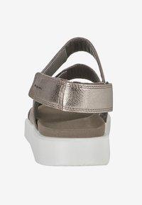 ECCO - Walking sandals - metallic grey - 3