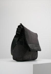 Bugatti - MESSENGER BAG - Across body bag - schwarz/grau - 3