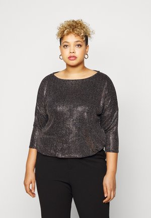 BUBBLE  - Long sleeved top - bronze