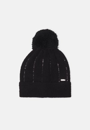 BEANIE HAT - Bonnet - black