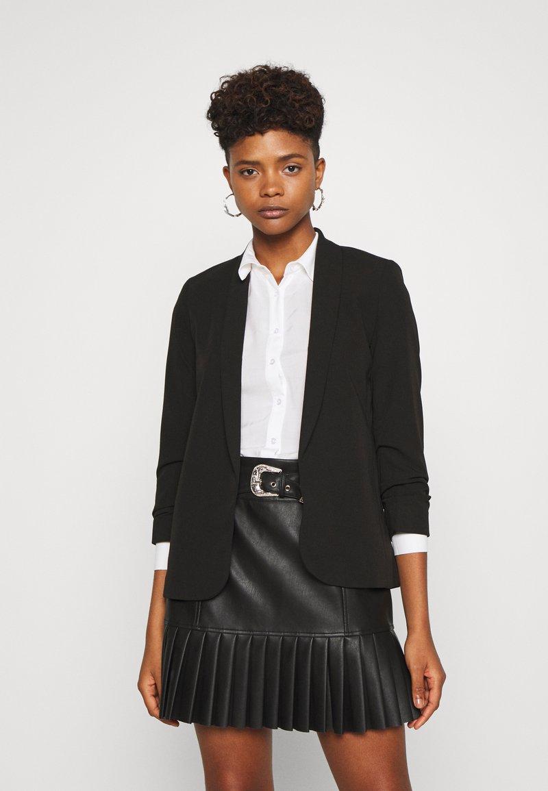 New Look - NAPLES RUCHED - Blazer - black