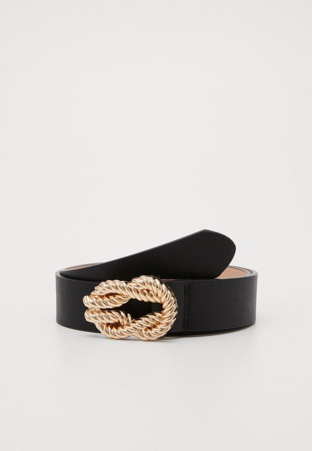 ROPE BUCKLE - Belte - black