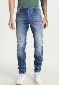 G-Star - ARC 3D SLIM - Slim fit jeans - light aged - 0