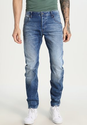 ARC 3D SLIM - Džíny Slim Fit - light aged