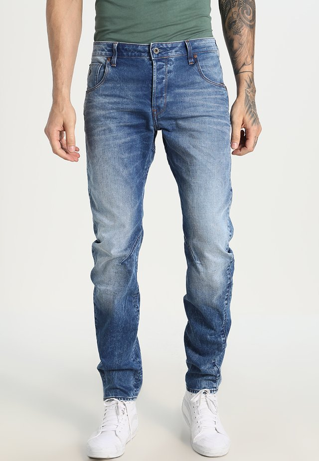 ARC 3D SLIM - Slim fit jeans - light aged